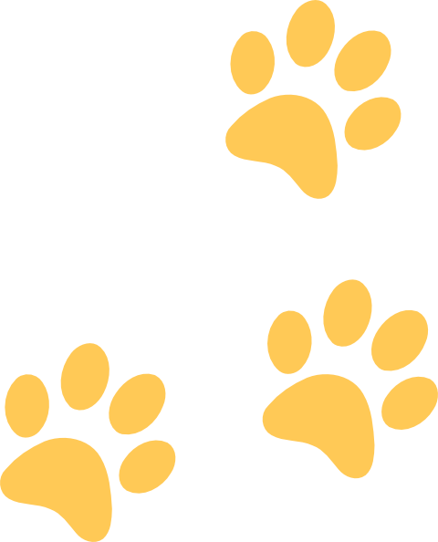 Panther Paw Print Clipart.