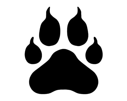 Free Panther Paw Print, Download Free Clip Art, Free Clip.