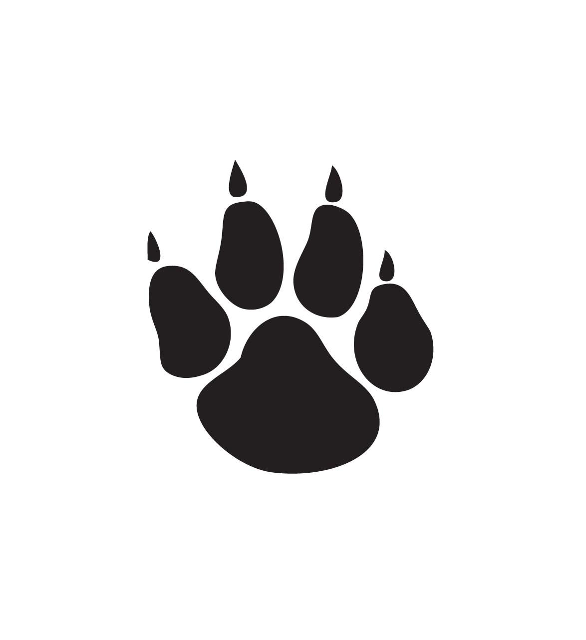 30+ Panther Paws Clip Art.