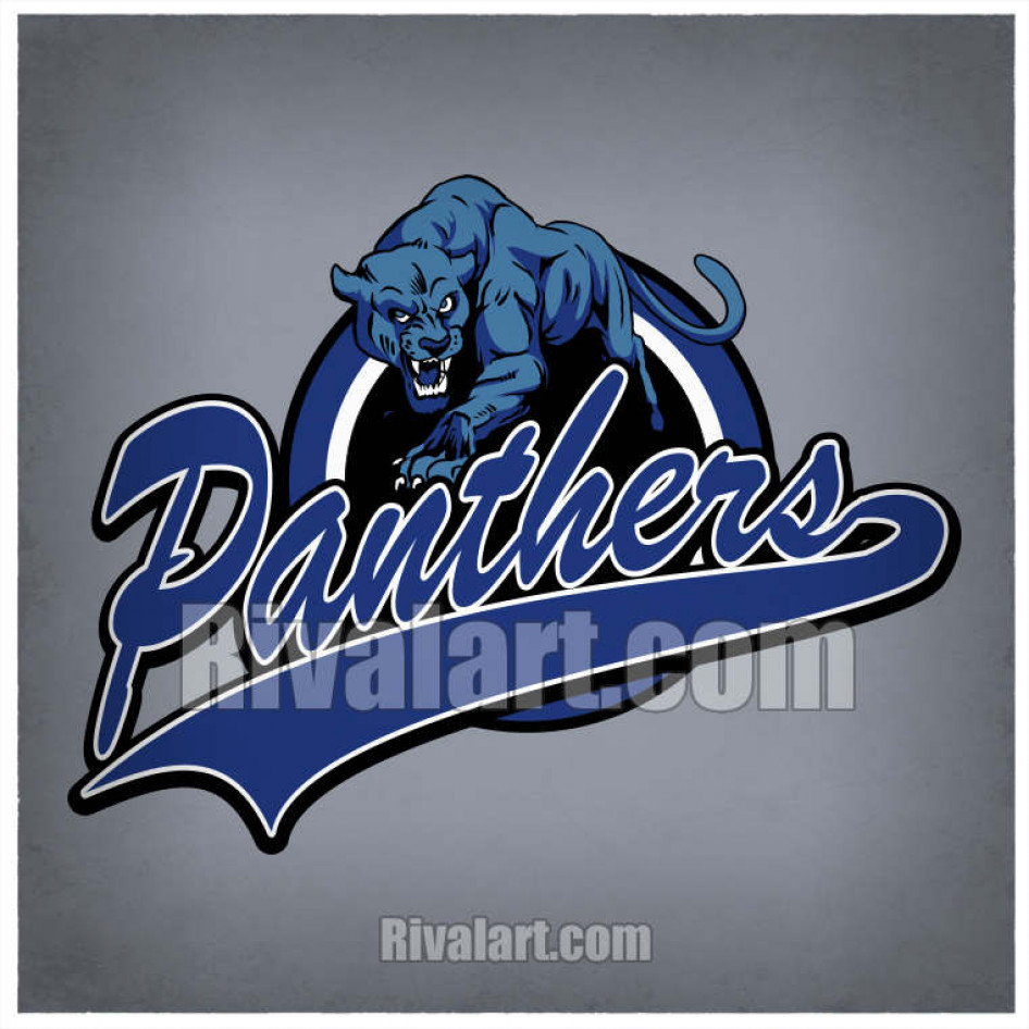Vector Panther Clipart CT 02.
