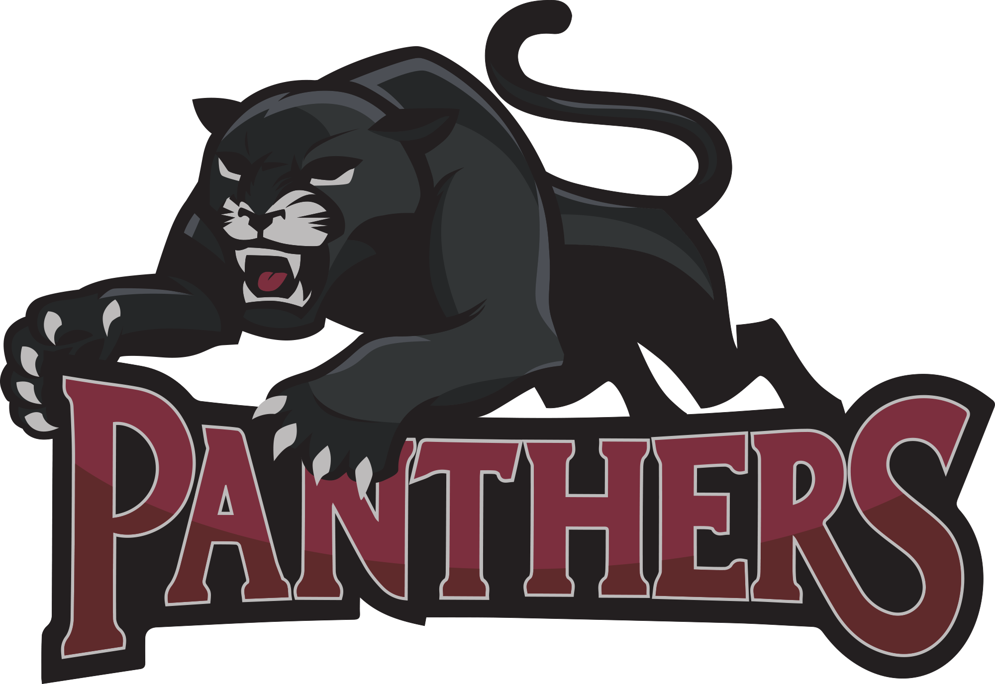 Volleyball clipart panther, Volleyball panther Transparent.