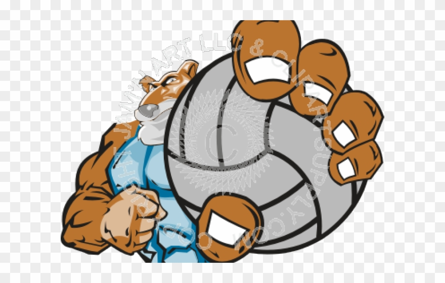 Panther Volleyball Cliparts.