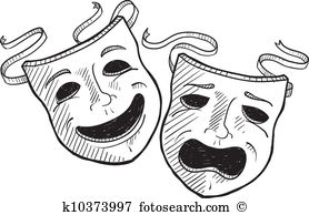 Pantomime Clipart Illustrations. 558 pantomime clip art vector EPS.