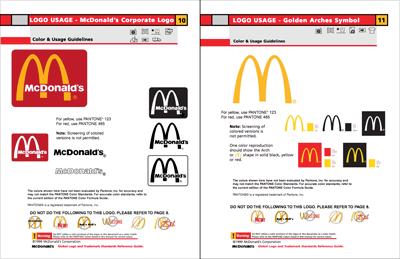 McDonald\'s Colors.