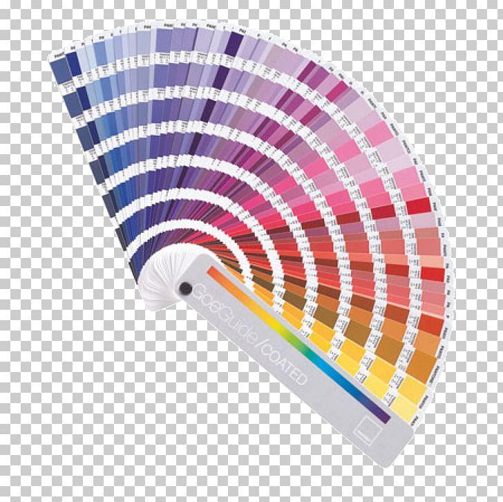 Paper Pantone Color Chart Printing CMYK Color Model PNG.