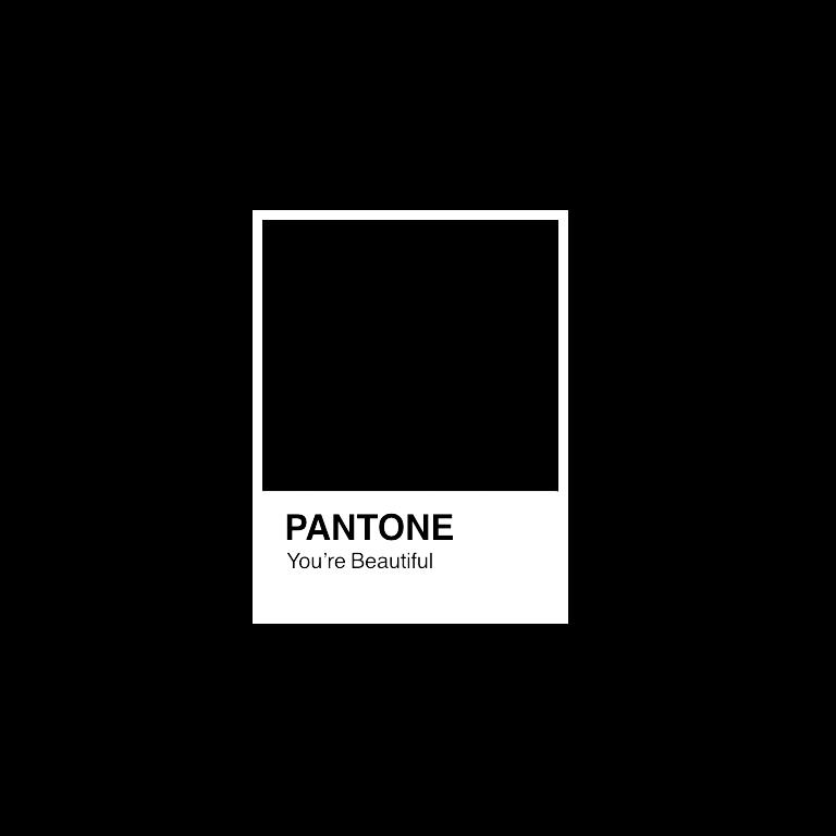 You\'re Beautiful Pantone pantone aesthetic art beautif.