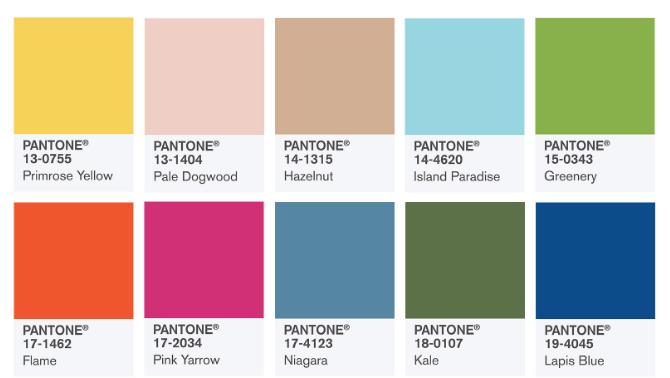2017\'s Hottest Colors.