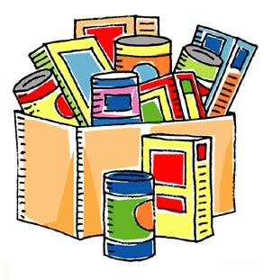 Food pantry clipart.