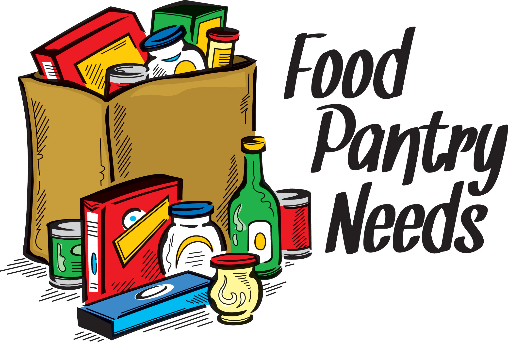 Clipart Food Pantry.