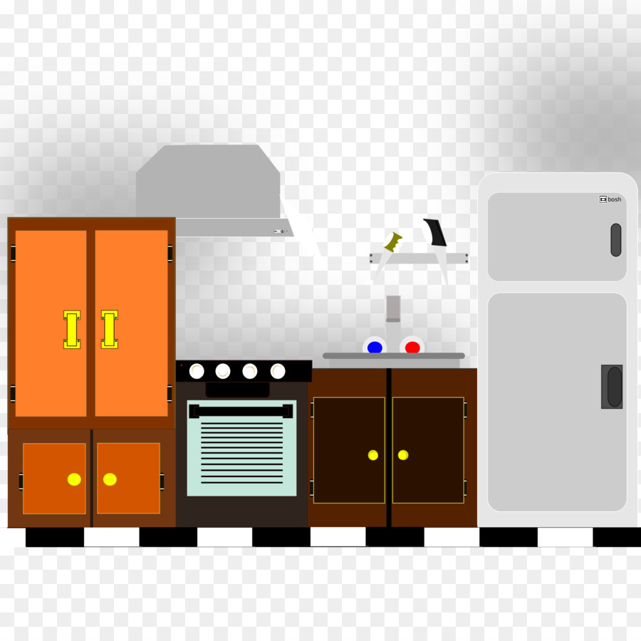 Kitchen Cartoon png download.