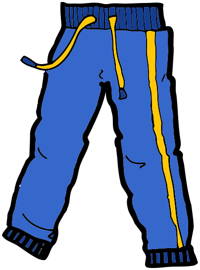 Clipart of pants.