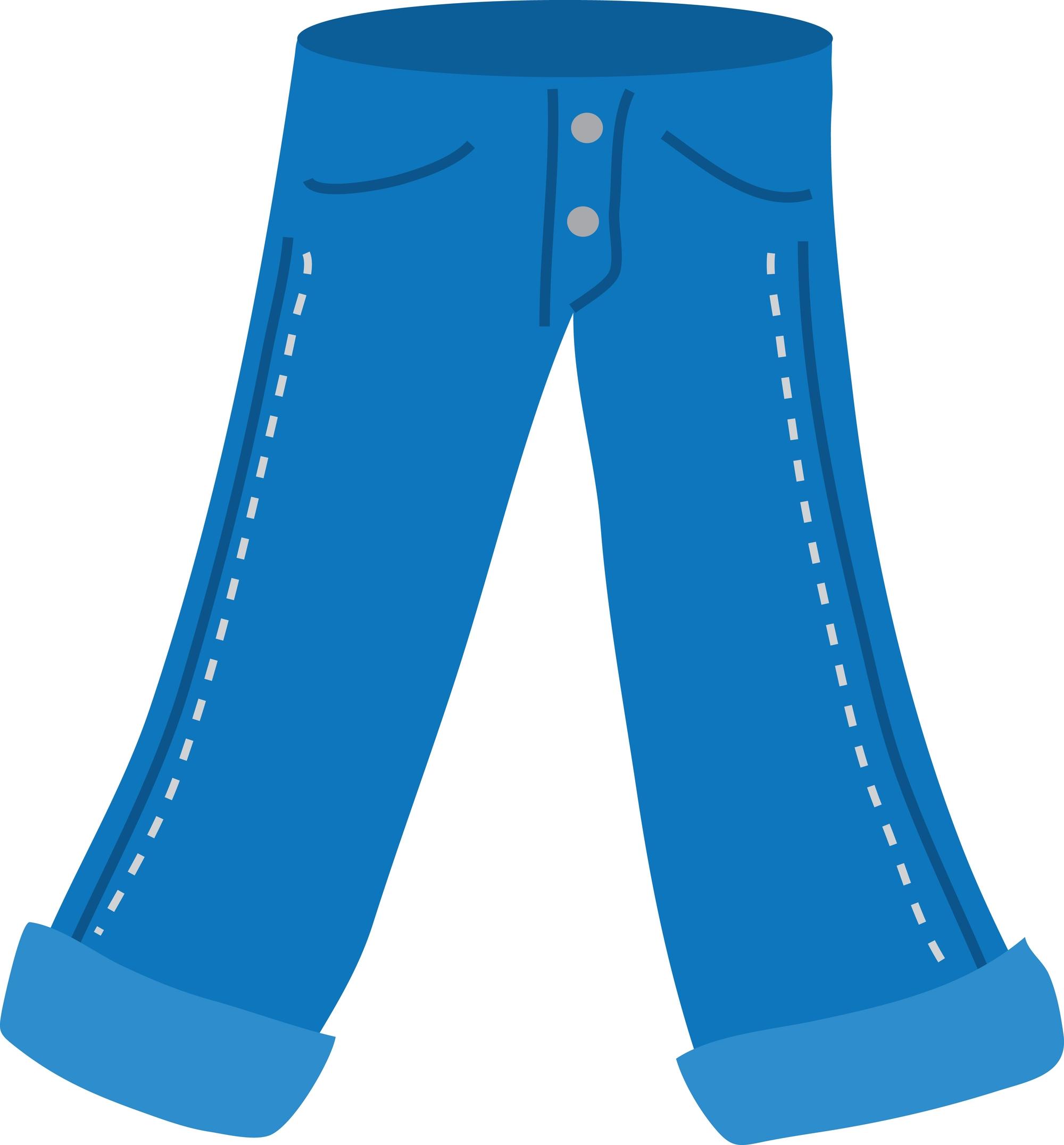 1324 Pants free clipart.