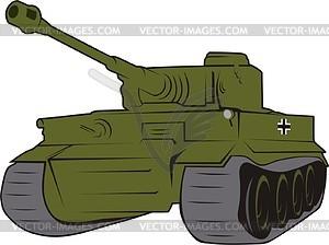 Panzer clipart #12