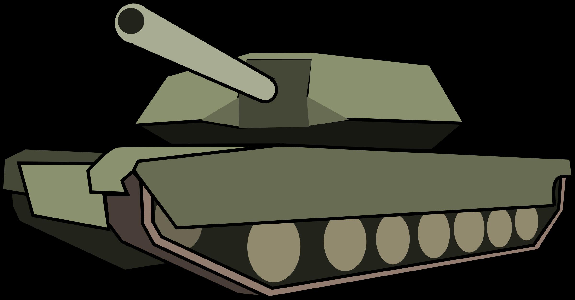 Free clipart tanks.