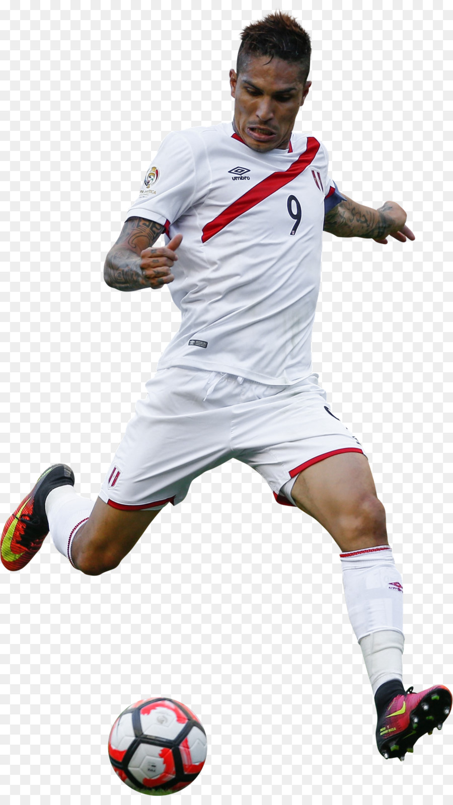Download Free png Paolo Guerrero Peru national football team.