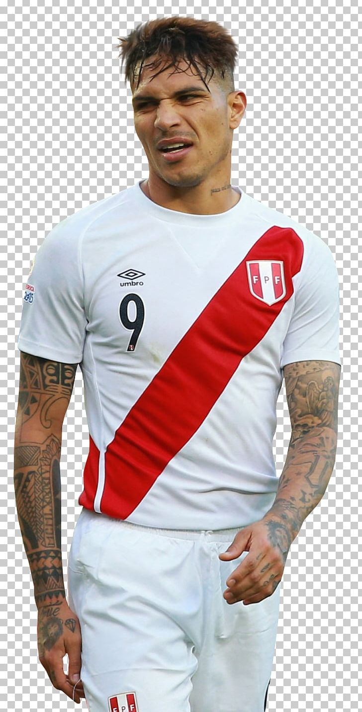 Paolo Guerrero Peru National Football Team Jersey Soccer.