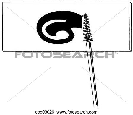 Stock Illustration of Pap smear cog03026.
