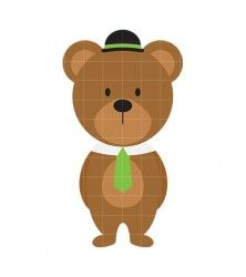 Papa Bear Clip Art.