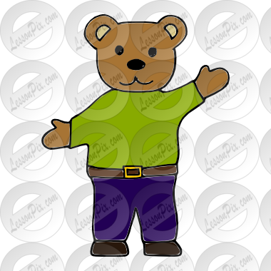 Papa Bear Picture for Classroom / Therapy Use.