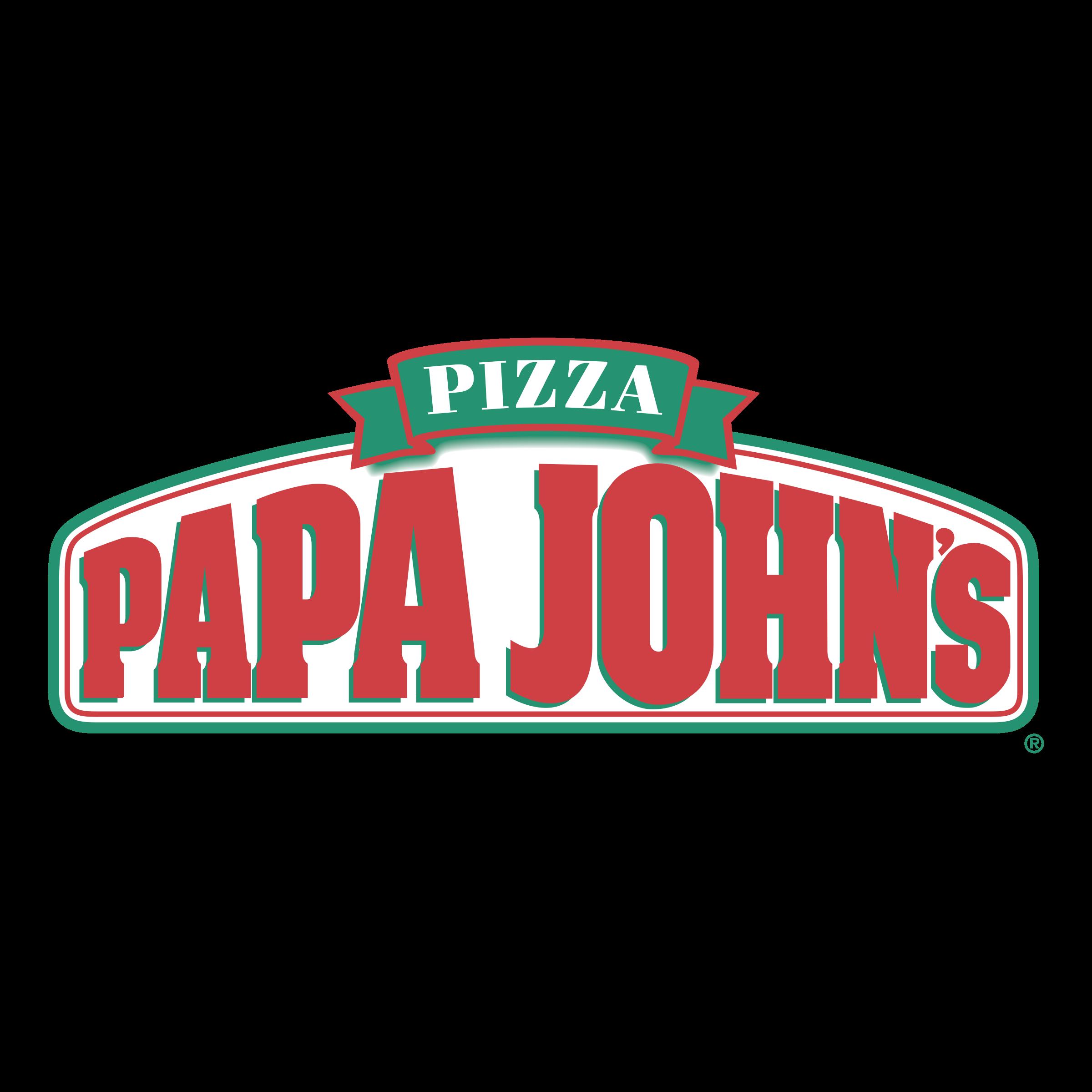 Papa John\'s Pizza Logo PNG Transparent & SVG Vector.