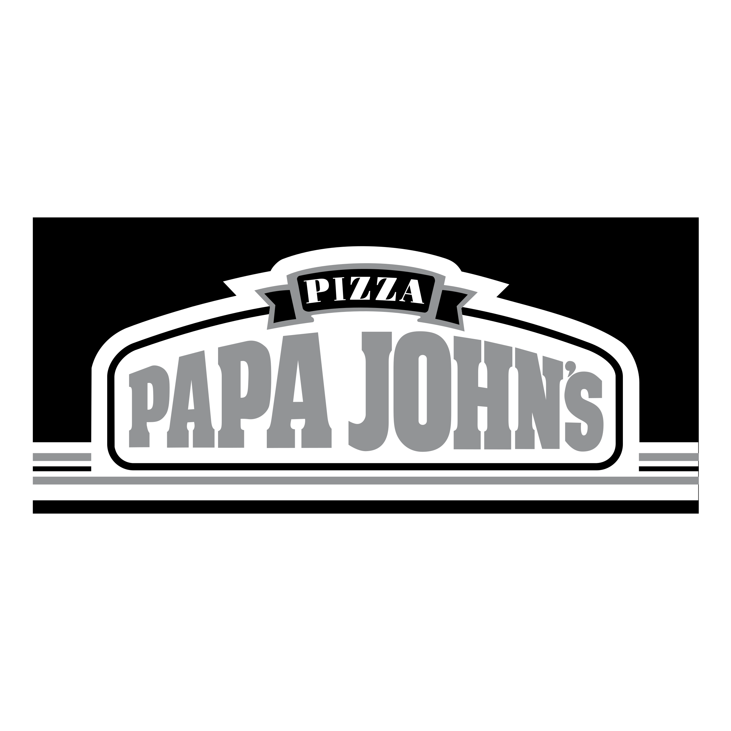 Papa John\'s Pizza Logo PNG Transparent & SVG Vector.