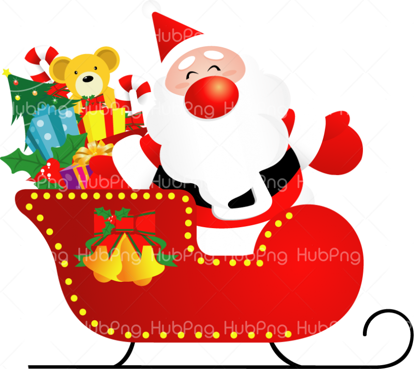 santa cartoon claus png papa noel photo Transparent.