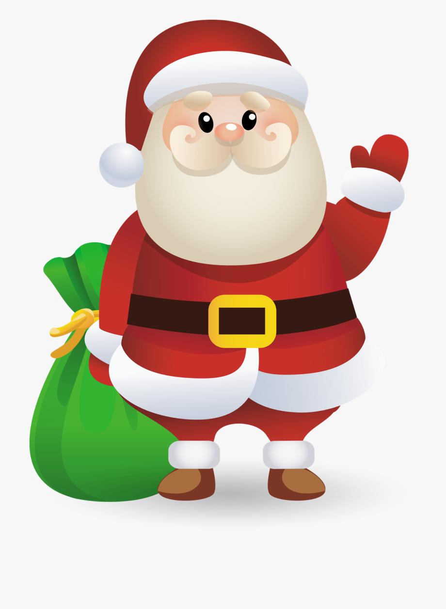 Santa Claus Clipart Decoration.