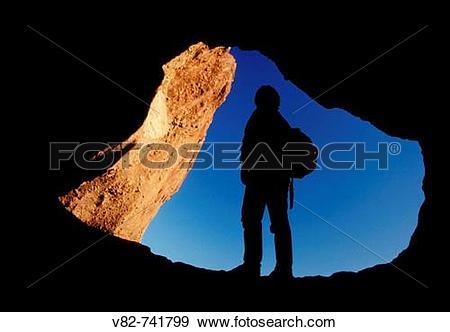 Stock Photograph of Outcrop arch, Papago Park, Phoenix, Arizona.