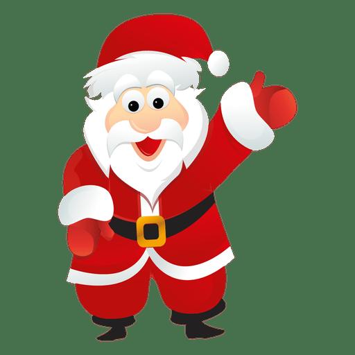 Desenho de Papai Noel 7.