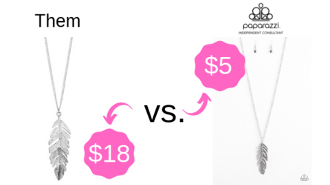 Paparazzi Jewelry vs. Top Brands Price Comparison: Save.