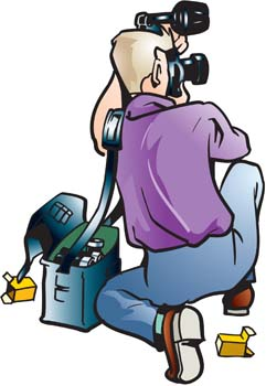 Paparazzi 8 clip arts, clip art.