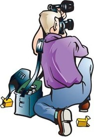 Paparazzi Flash Clipart.