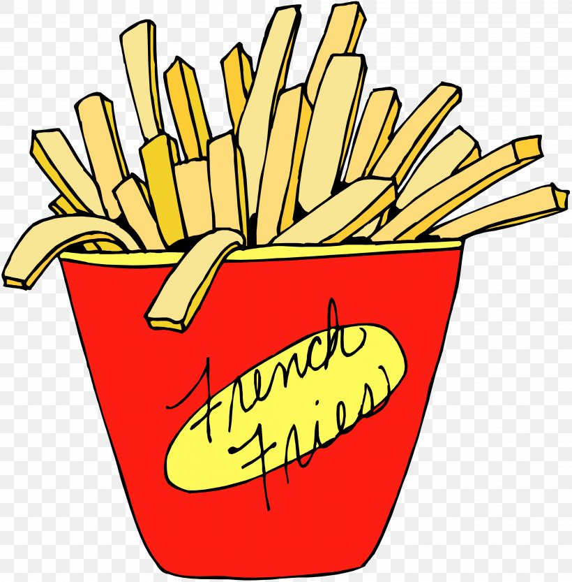 French Fries Clip Art Potato McDonald\'s Frying, PNG.