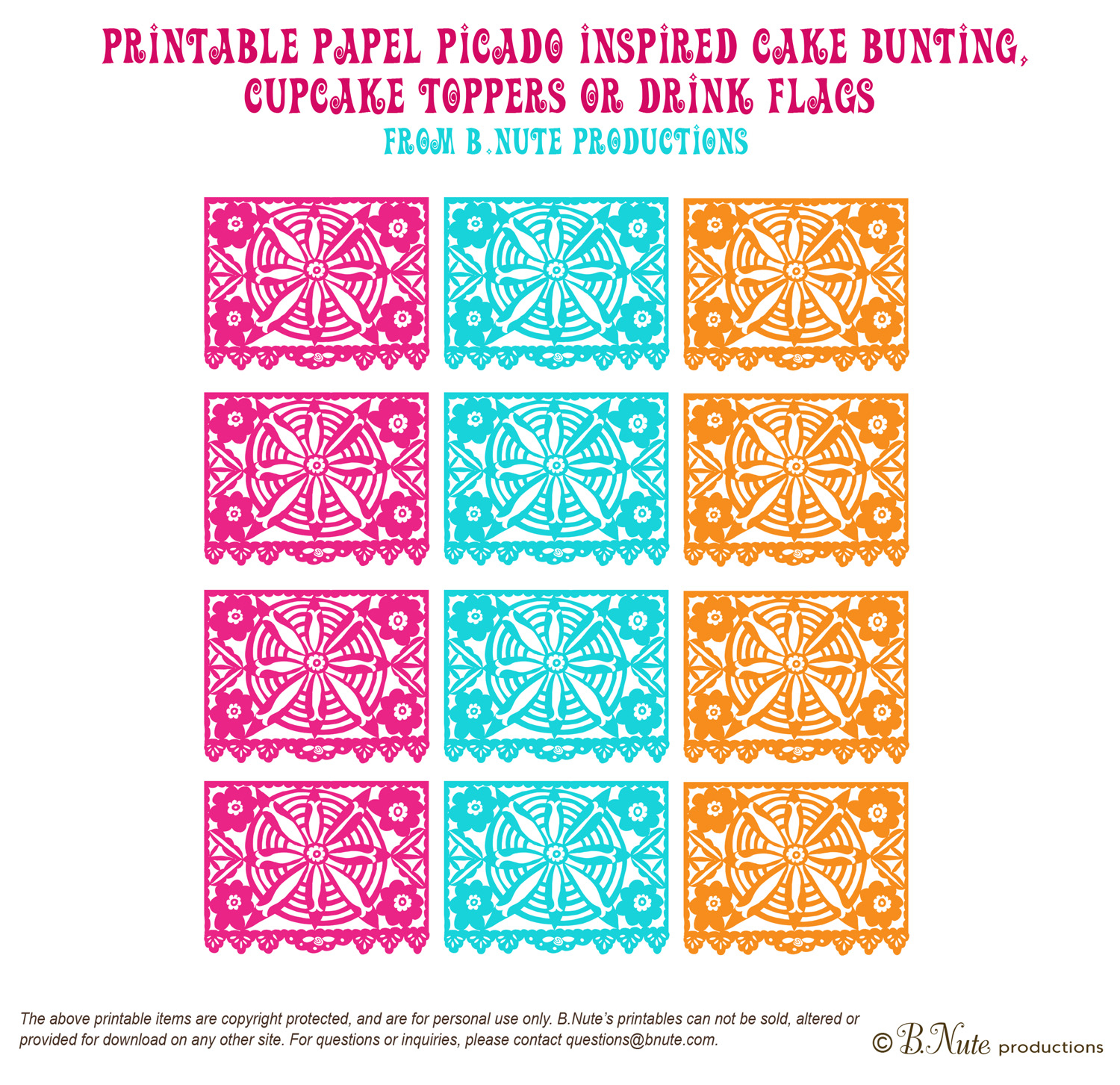 Papel Picado For Your Wedding.