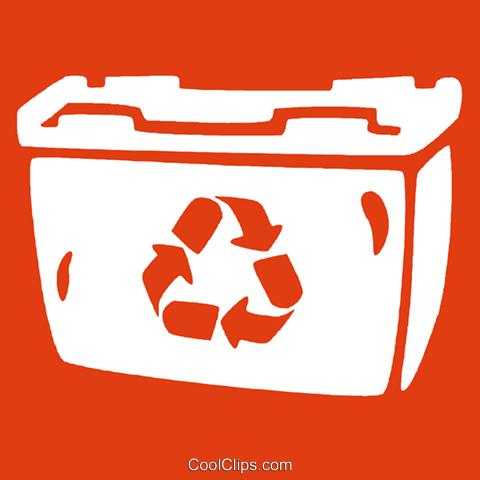 papelera de reciclaje libres de derechos ilustraciones de.