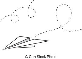 Paper airplane Stock Illustrations. 7,476 Paper airplane clip art.