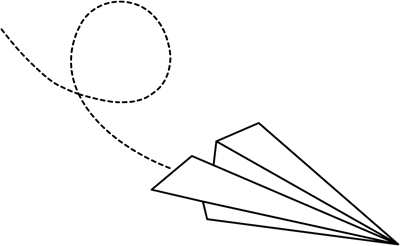 367 Paper Airplane free clipart.