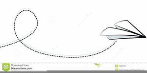 Free Paper Airplane Clipart.