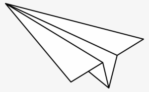 Paper Airplane PNG, Transparent Paper Airplane PNG Image.