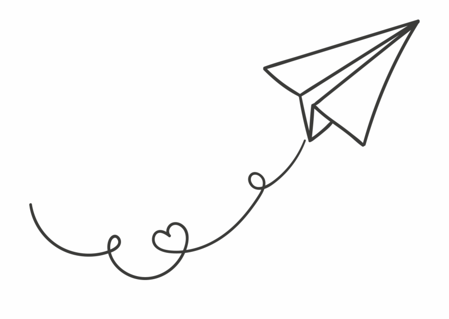 Paper Plane Png Image Transparent.