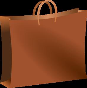 Brown paper bag clipart free.