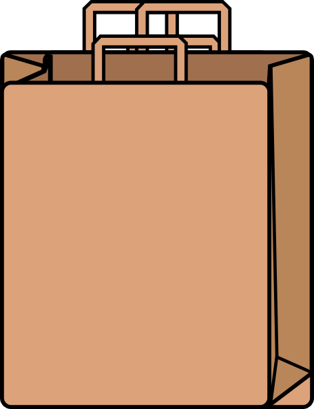 Brown Bag Clipart.