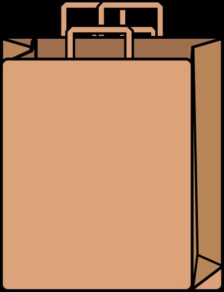 Brown Bag Clipart.