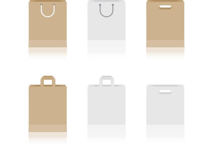 Paper Bag Vectors.