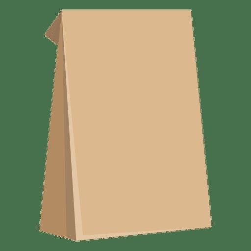 Food paper bag.