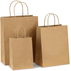 BagDream Kraft Paper Bags 5x3x8& 8x4.25x10& 10x5x13 25 Pcs Each, Gift Bags,  Kraft Bags,Shopping Bags with Handles, Paper Shopping Bags, Craft Bags,.