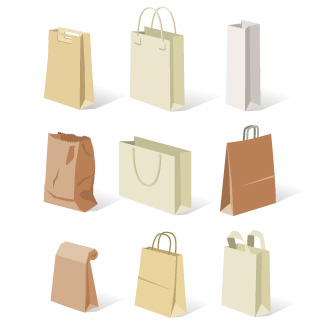 CLIPART PAPER BAGS 2.