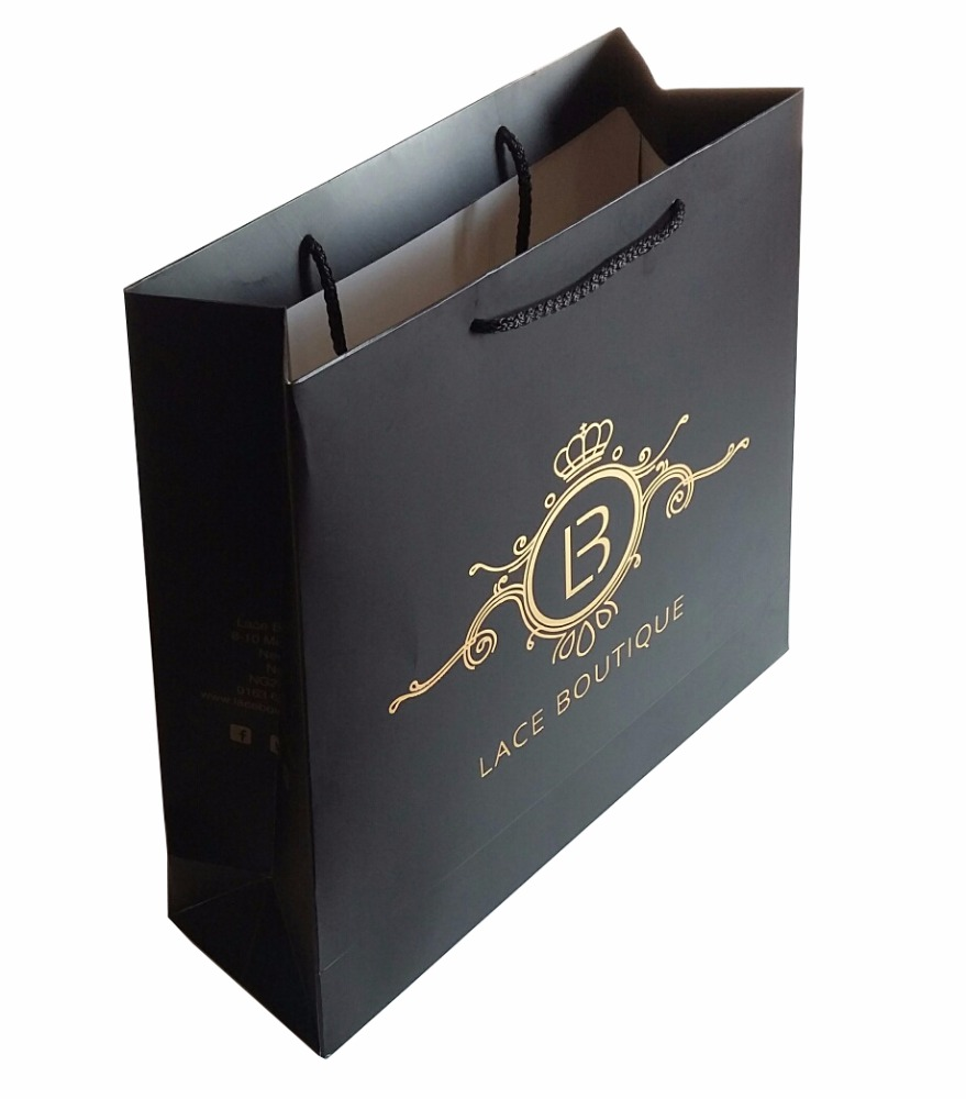 14 Years Professional Factory Made Pure White Paper Packing/brown Kraft  Paper Bag.