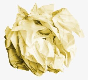 Crumpled Paper PNG, Transparent Crumpled Paper PNG Image.
