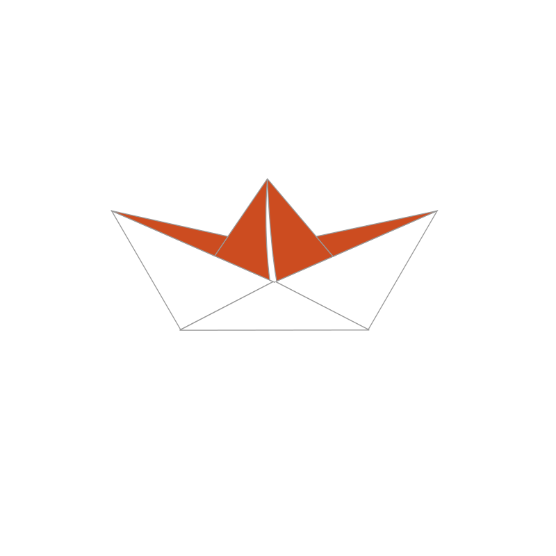 Free Clipart: Paper boat.